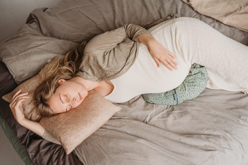 Slaapkussen-bellydrop